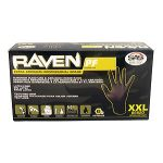 RAVEN POWDER-FREE NITRILE GLOVES-100/box