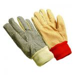 08 oz. Knitwrist Import Canvas Dot Gloves