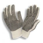 Economy One-Sided PVC DOT String Gloves/Sold by the dozen.