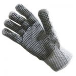 ProCare™ 2-Sided Dotted Gray Gloves/Sold by the dozen.