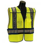 ANSI Class 2 - POLICE Lime Public Safety Vests
