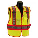 ANSI Class 2 - FIRE Lime Public Safety Vests