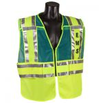 ANSI Class 2 - EMS Green/Lime Public Safety Vest