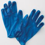 Metal Detectable Vinyl Gloves