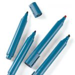 Metal Detectable Dry Erase (whiteboard) Markers - Bullet Tip