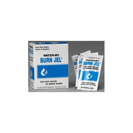 BURN JEL UNIT DOSE IN DISPENSER BOX 25 PCS.