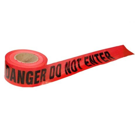 Danger Do Not Enter Barricade Tape