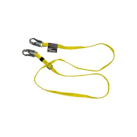 Miller 6 ft. Adjustable Positioning Lanyard 210WLS/6FTYL