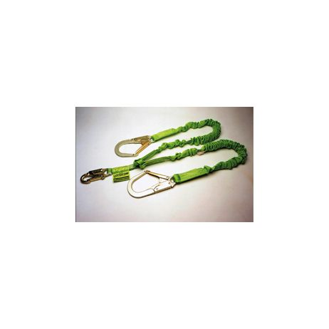 Miller Stretchable Lanyard, Twin Style,Rebar hook 231M/6FTGN