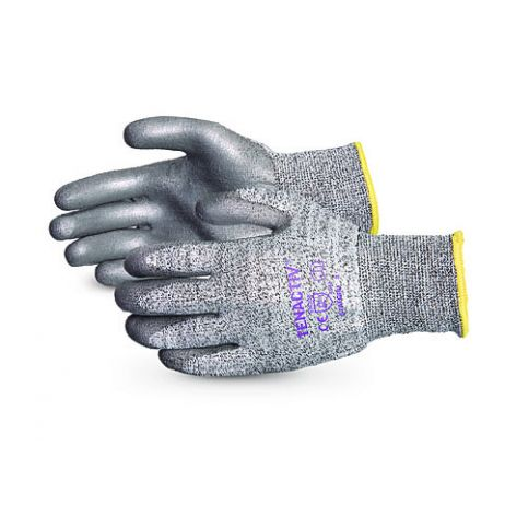 Superior® TenActiv™ Composite Filament Fiber Cut-Resistant Knit with Grey PU Palms
