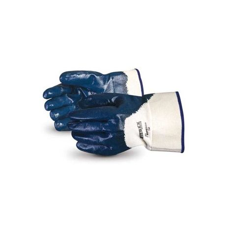 Superior® Nitrile Palm Coated Safety Cuff Glove