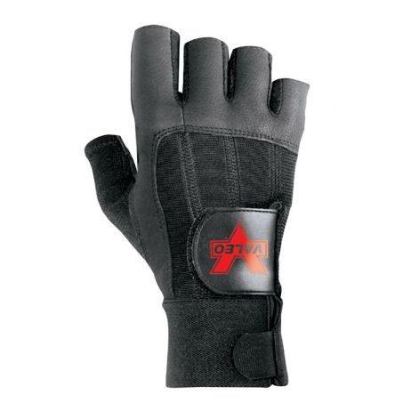 Pro Fingerless Full-Leather Anti-Vibe Glove/Right Hand