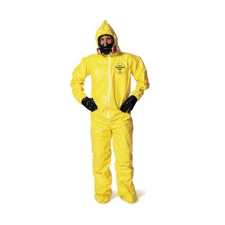 DuPont™ 2X Yellow Tychem® QC Chemical Protection Coveralls