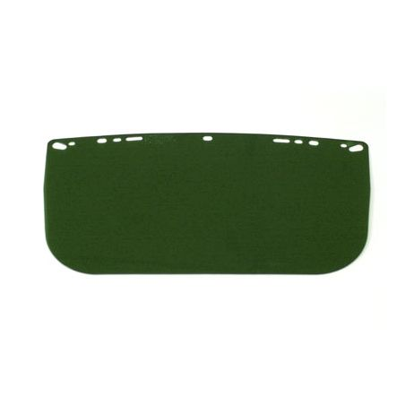 Bullard® Flat Acetate Visor - Green - 840MG