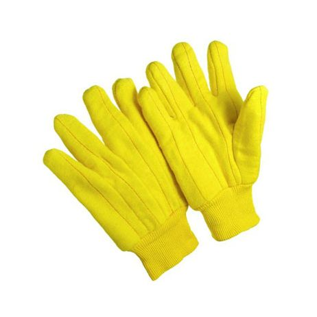 18 oz. Chore Gloves - Gold - Mens/Sold per dozen.