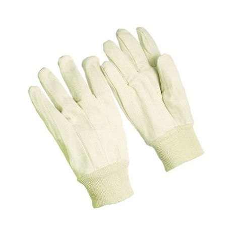 08 oz. Knitwrist Cotton Canvas Glove
