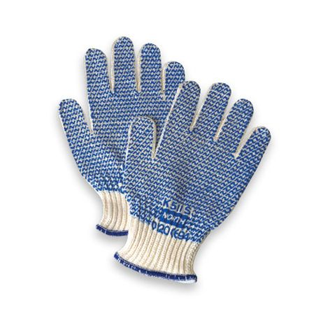 North® Grip-N® PVC Coated String Gloves/Sold by the dozen.