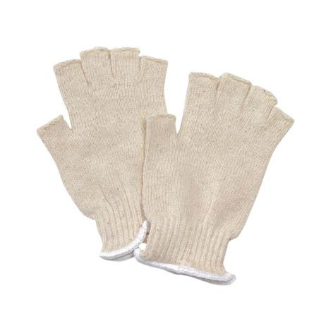 Fingerless Seamless Knit Gloves - 13-Cut/Sold by the dozen.