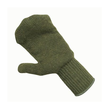 Ragg Wool Mitt Liner/Sold by the dozen.