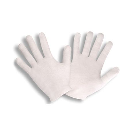 Cotton Lisle Inspector Gloves - Heavyweight/Sold per dozen.