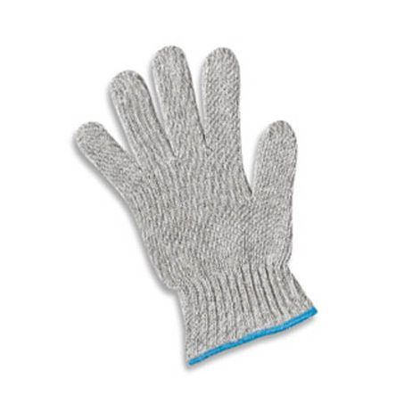 Gray Poly/Cotton 7-Gauge Standard Weight Gloves - Mens