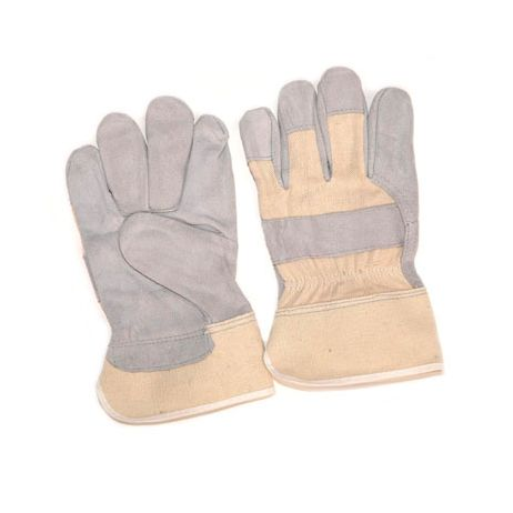 Select Shoulder Leather Palm Gloves - Duck Cuff/Sold by the dozen.