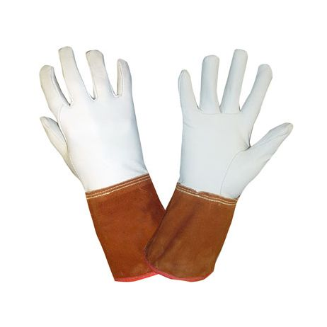 "Goatskin Tig Welding Gloves - 4"" Grain Cuff"