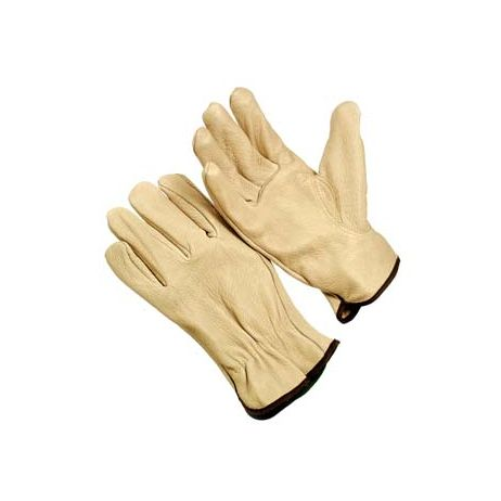 Grain Leather Pile Lined Drivers Gloves/Sold by the dozen.