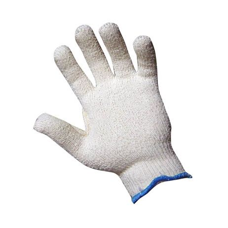 "Terry Cloth ""Loop In"" Poly/Cotton Blend String Glove/Sold by the dozen."