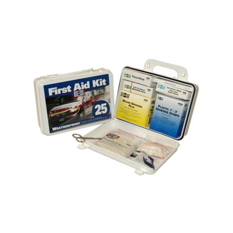 ProCare™#25 PLUS Weatherproof Plastic First Aid Kit