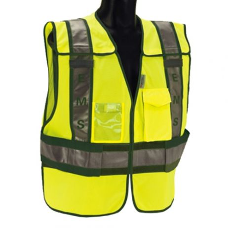 ANSI Class 2 - EMS Lime Public Safety Vest