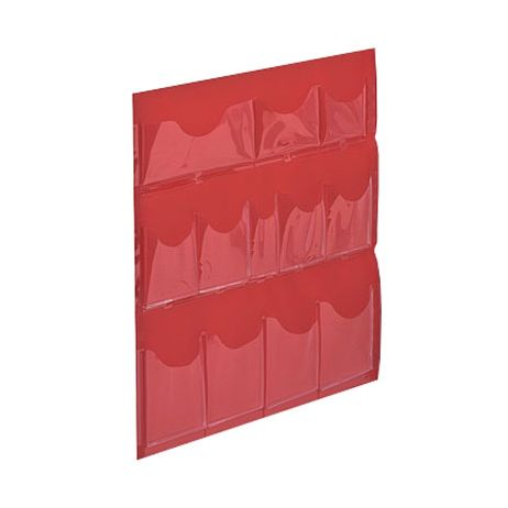 Plastic Door Pouches for 3-Shelf First Aid Cabinet
