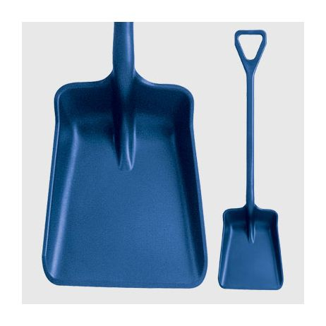 Metal Detectable Standard Blade One-Piece Shovel