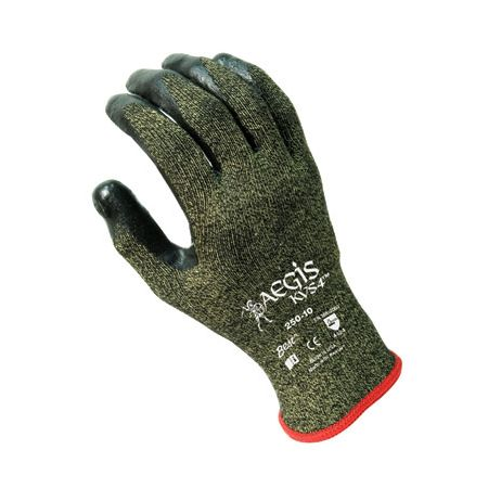 Showa® Best® AEGIS KVS4 Cut Level 4 Nitrile Palm Coated Glove/Sold by the dozen.